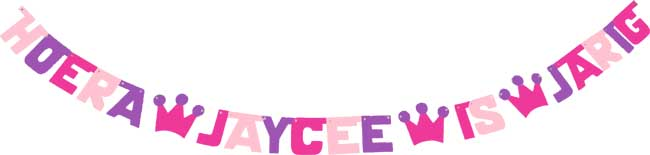 Hoera Jaycee is jarig