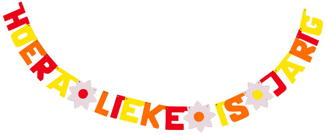 Hoera Lieke is jarig