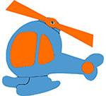 helicopter feestslinger vliegtuig vliegenier naamslinger tekstslinger