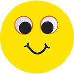 smiley smeyli smeyley smeilie smijlie smijly smijley gezichtje vrolijk lachen lachebek feestslinger naamslinger tekstslinger