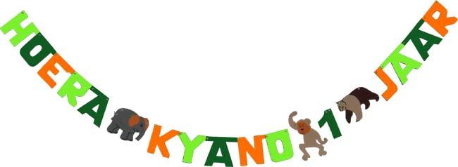 Hoera Kyano 1 jaar