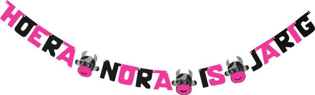 Hoera Nora is jarig