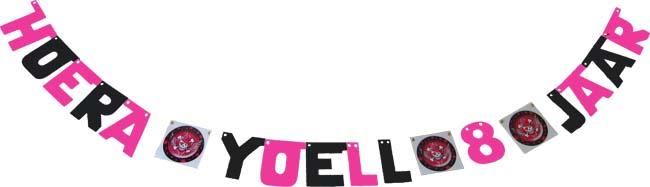 Hoera Yoell 8 jaar