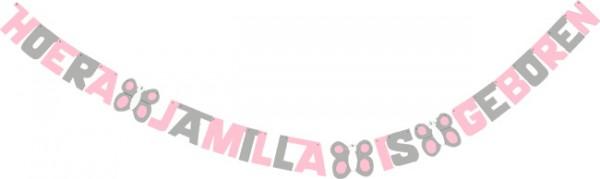 Hoera Jamilla is geboren