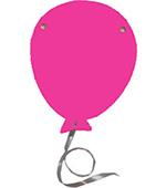 hoera jarig feestslinger tekstslinger naamslinger verjaardagsballon feestballon
