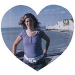 foto hartje hartvorm eigen foto afbeelding liefde love vrijen tekstslinger naamslinger feestslinger