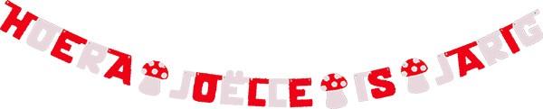 kleuren: rood - wit