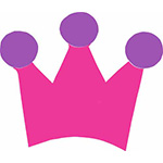 kroon kroontje jarig jubileum feestslinger naamslinger tekstslinger koninklijk koningsdag koningsspelen