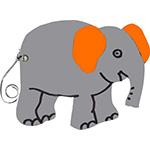 olifant dierentuin dierendag slurf safari africa big 5 tekstslinger naamslinger feestslinger dierenslinger jumbo dombo flapoor flappie
